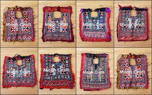 Multicolor Hand Embroidery Designer Kutch Embroidery Mirror Work