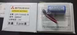Cr17335se Q6BAT Mitsubishi Battery, Battery Capacity: 1800 Mah, Voltage: 3V