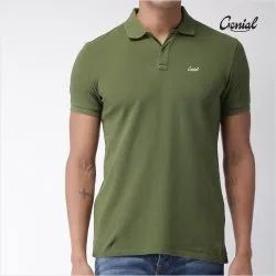 Men's Premium Cotton Collar T-Shirt (Pique)