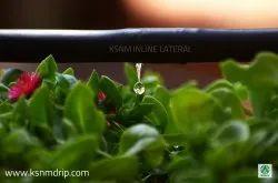Round Inline Drip Irrigation Pipes - 800 / 16 mm / 4 LPH / 40 cm / 500 meter