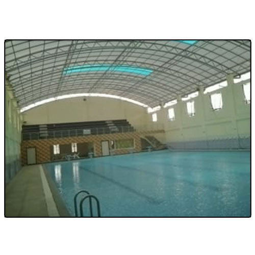 Steel / Stainless Steel Swimming Pool Fabricated Sheds | ID ...