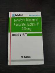 RICOVIR - Tenofovir Disoproxil Fumarate Tablets 300 mg
