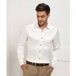 Mens Party Wear Plain Shirt
