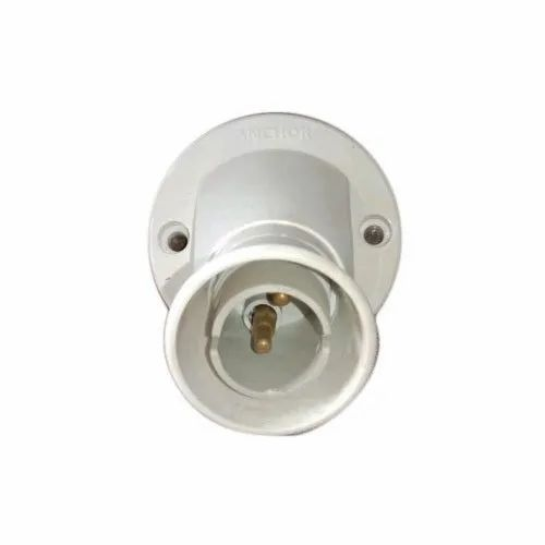Plastic White Electrical Angle Holder, Base Type: B22, for Electrical Fitting