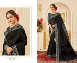 Stylish Party Work Sarees