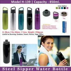 Steel Sipper Water Bottle H-139