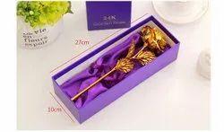 Best Gift For Girlfriend Golden Rose Wedding Decoration Golden Flower Valentine''''S