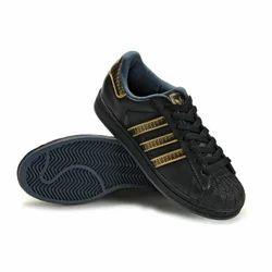 Adidas Superstar Black Gold Sneaker Shoes