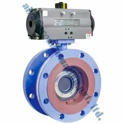 Pneumatic Actuator Double Eccentric Butterfly Valve