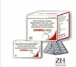 Lycopene, Methylcobalamin, Ginseng, Inositol, Benfotiamine, Ginkgo Biloba Capsules