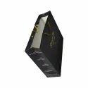 Black Paper Printed Carry Bag