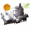 Batch Type Pellet Snack Frying Line