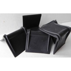 Simandhar Industries Blue and Black Plastic Corner, Size: 50 x 50 x 2 mm