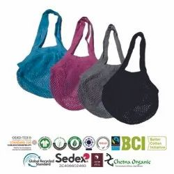 Multi Color Natural Recycle String Bags