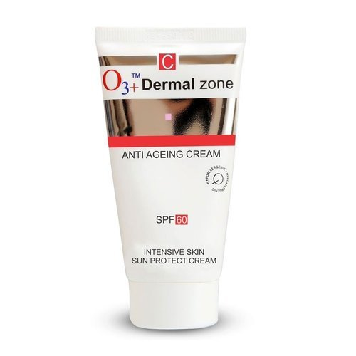 White Skin Cream O3 Dermal Zone Anti Ageing Cream SPF-60,50ml, for Personal