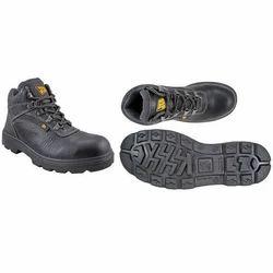Black Leather JCB Excavator Safety