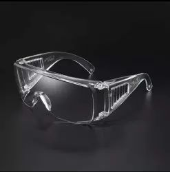 VF Polycarbonate Safety Goggles, Frame Type: Plastic