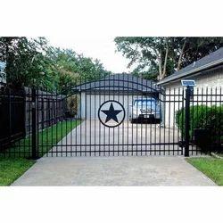 indian open driveway gate. Mild Steel Automatic Gate Sliding Gates in Ernakulam  Kerala India IndiaMART