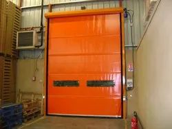 PVC High Speed Roll-up Door for Industrial