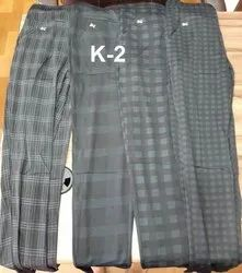 Cotton Check Printed Ladies Lower