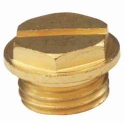 Brass Light Plug