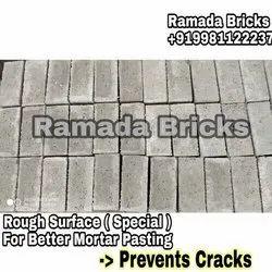 Cement Rough Flyash Bricks, Size: 190*90*90