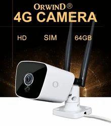 4G Outdoor Bullet CCTV Camera