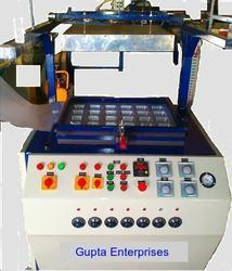 Semi-Automatic Thermocol Dona Making Machine