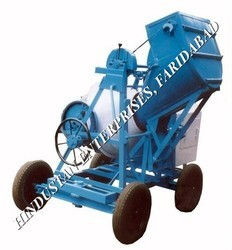 Concrete Mixer Machine with Mechanical Hopper