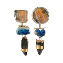 Unique Gems Las Semi Precious Stone Earring