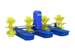 Semi-Automatic Surface Floating 2HP Shrimp Farming Aerator