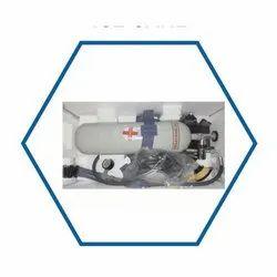 Venus Gray Ice Plant Gas Mask