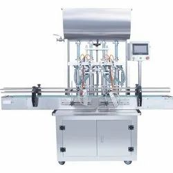 4 Head Pneumatic Sauce Filling Machine
