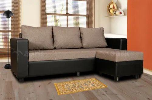 The Maark Grey Tiny Fabric Sofas, Warranty: 1 Year
