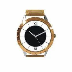 Round Casual Designer Wrist Watch