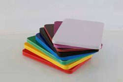 Glossy & Uv Coated Coloured PVC Foam Board, Thickness: 8 Mm, 11 Mm & 17 Mm, Size: 4 X 8