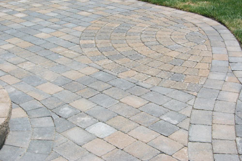 Grey Interlocking Paving Stone, For Pavement