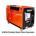 8.5kva Portable Silent Petrol Generator, Voltage: 220-240 V