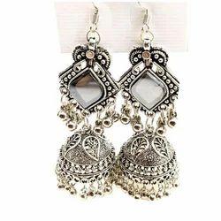 Wedding Jhumka Imitation Earring