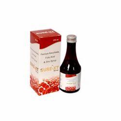 Ferrous Ascorbate Folic Acid & Zinc Syrup
