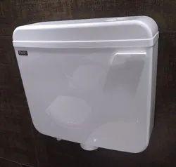 EMIC White SMART Single Flushing Cisterns, For Toilet
