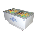 Stainless Steel Island Freezers, Model: Cf 400