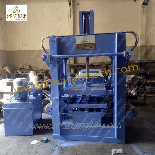Vibro. Automatic Hollow Block Making Machine With Auto. Stacker