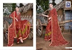 Rachna Chiffon Sakhi Catalog Saree Set For Woman 2