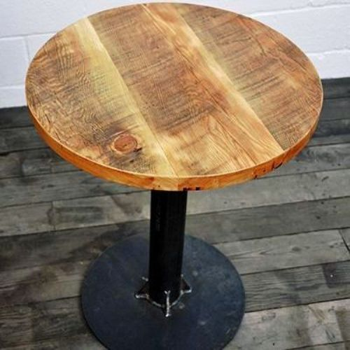 Rustic Green Round Cafe Table Seating Capacity 2 Size 60 60 75cm Rs 4000 Piece Id 17054813288