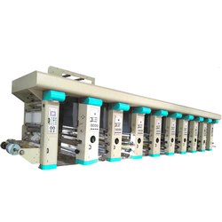 High Speed Automatic Rotogravure Printing Line