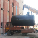 Dish End Diesel Storage Tank