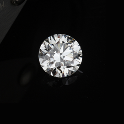 0.52ct HRD Certified Lab Grown Diamond E VVS1 Round Brilliant Cut 1 Stone