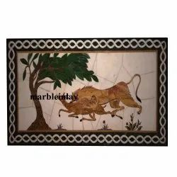 Marble Table Tops With Exclusive Inlay Work