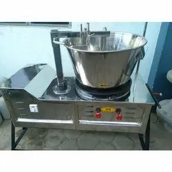 Gas Halwa Making Machine